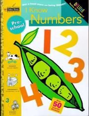 Cover of: I Know Numbers (Preschool) (Step Ahead) by Golden Books