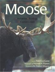 Cover of: Moose by Valerius Geist