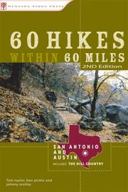 Cover of: 60 Hikes Within 60 Miles: San Antonio and Austin | Johnny Molloy