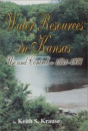 Cover of: Water resources in Kansas | Keith S. Krause