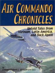 Cover of: Air commando chronicles | Robert L. Gleason