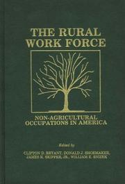Cover of: The Rural Workforce | Donald J. Shoemaker