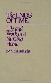 Cover of: The ends of time | Joel S. Savishinsky