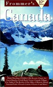 Cover of: Frommer's Canada | Wayne Curtis