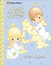 Cover of: A Is for Angels (Precious Moments (Golden)) by Golden Books