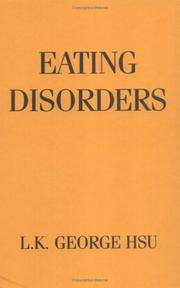 Cover of: Eating disorders | L. K. George Hsu