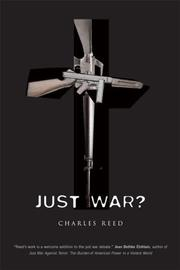 Cover of: Just War? by Charles Reed