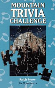 Cover of: Mountain trivia challenge by Ralph Storer