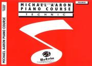 Cover of: Michael Aaron Piano Course / Technic / Primer | Michael Aaron