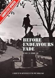 Cover of: Before Endeavours Fade | Rose E.B. Coombs