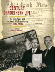 Cover of: Century of Northern Life by Eamon Phoenix