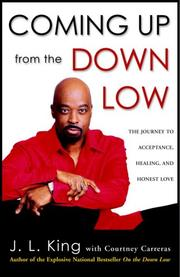 Cover of: Coming Up from the Down Low | J.L. King