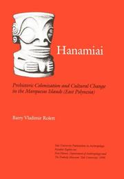 Cover of: Hanamiai | Barry Vladimir Rolett