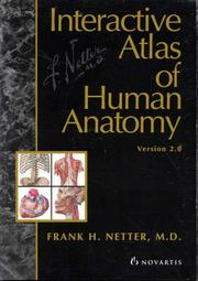 Cover of: Interactive Atlas of Human Anatomy | Frank H. Netter