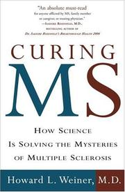 Cover of: Curing MS | Howard L. Md Weiner