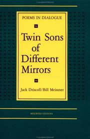 Cover of: Twin Sons of Different Mirrors | Jack Driscoll, Bill Meissner