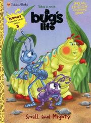 Cover of: Small and Mighty (Disney's Bug's Life) by Golden Books