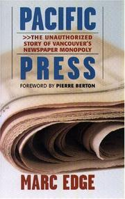 Cover of: Pacific Press by Marc Edge