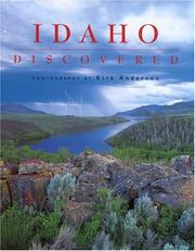 Cover of: Idaho discovered | Kirk Anderson