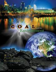 Cover of: Coal and the Environment | C. F. Eble, D. C. Peters, A. R. Papp S. F. Greb