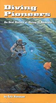 Cover of: Diving Pioneers by Eric Hanauer