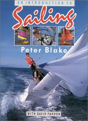 Cover of: An introduction to sailing | Blake, Peter