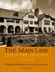 Cover of: The Main Line | William Alan Morrison