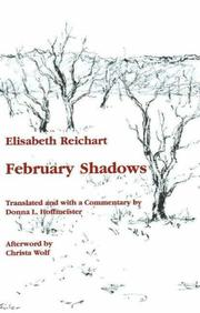 Cover of: Februarschatten | Elisabeth Reichart