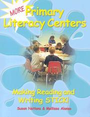 Cover of: More Primary Literacy Centers by Susan Nations