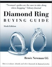 Cover of: Diamond Ring Buying Guide | Renee Newman
