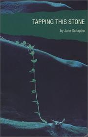 Cover of: Tapping this stone | Jane Schapiro