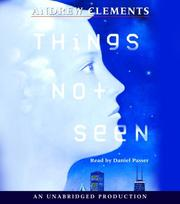 Cover of: Things Not Seen | Andrew Clements