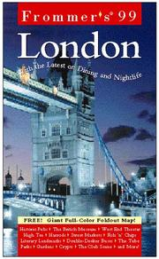 Cover of: Frommer's 99 London | Darwin Porter
