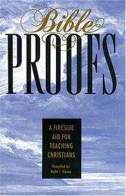 Cover of: Bible Proofs by Nabil I. Hanna