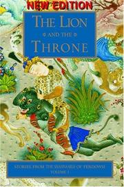 Cover of: The Lion and the Throne | Abolqasem Ferdowsi