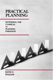 Cover of: Practical Planning by David E. Wilkins