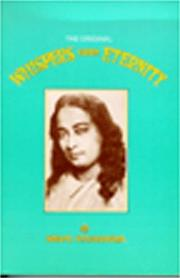 Cover of: Whispers from Eternity by Swami Yogananda