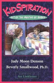 Cover of: KidSpiration | Judy Moon Denson