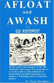 Cover of: Afloat and awash in the Old Northwest | Marge Davenport