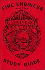 Cover of: Fire Engineer Oral Exam Study Guide | Arhtur R. Couvillon