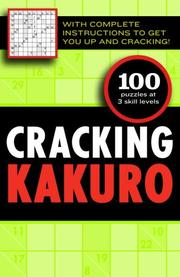 Cover of: Cracking Kakuro | Editors of the Guardian