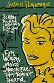 Cover of: For women | Susan Pomerance