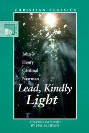 Cover of: Lead, kindly light by John Henry Newman