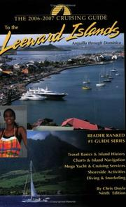 Cover of: Cruising Guide to the Leeward Islands by Chris Doyle