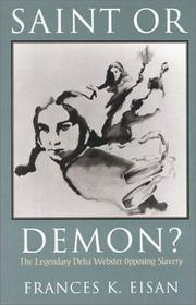 Cover of: Saint or Demon? | Francis K. Eisan