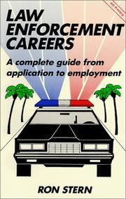 Cover of: Law enforcement careers | Ron Stern
