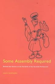 Cover of: Some assembly required by Shepherd, David