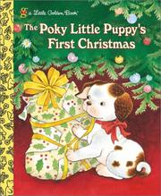 Cover of: The Poky Little Puppy's First Christmas | Golden Books