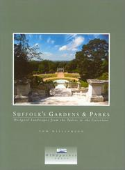 Cover of: Suffolk's Gardens and Parks by Tom Williamson