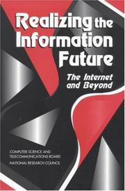 Cover of: Realizing the Information Future by National Research Council.